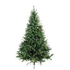 6 ft pre lit canadian pine artificial christmas tree candlelight