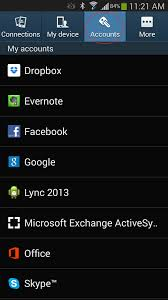 microsoft lync 2013 for android syncing android and rcc e mail rcc