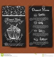Beautiful Decoration Element Vector Illustration Bakery Design Beautiful Card With Decorative