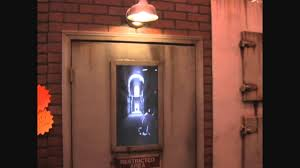 the asylum door haunted house animatronic halloween illusion youtube