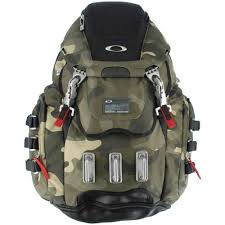 Oakley Backpack KITCHEN SINK B OLIVE  L Shoes Steel - Oakley backpacks kitchen sink