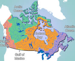 canada states map geography of canada