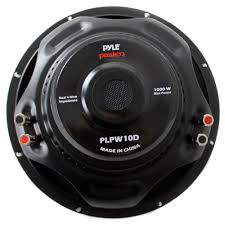 best home theater subwoofer under 1000 pyle plpw10d 10