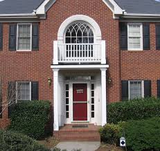 upper rail portico designed and built by georgia front porch
