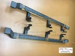 2009 2010 hummer h3t chrome running boards nerf step rails new oem