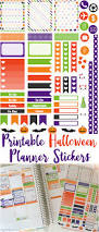 Halloween Stickers Printable by October Planner Stickers Munchkins And The Military