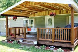 Covered Porch Rough Cut Lumber Porch Roof Covered Front Porch Rustic Front