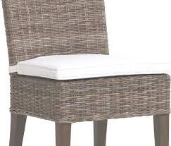 meubles en rotin coussin seul pour chaise en rotin joséphine coloris écru