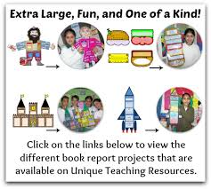 free book report project templates printable templates