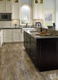 Ceramic Wood Tile Flooring Ceramic Or Porcelain Tile For Kitchen Floor Difference Between And