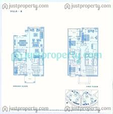 six towers villas floor plans justproperty com floor plans for six towers villas marina villas b