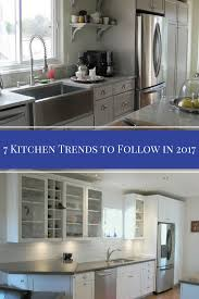 7 popular kitchen trends in 2017 dumpsters com