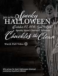 spooky halloween chernoff newman