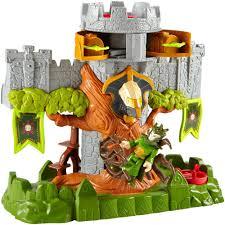 imaginext castle mid playset walmart com