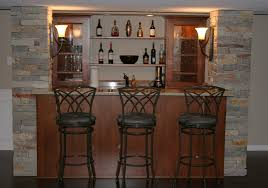 Wall Bar Table Interior Bar Design For Home Designs Mixed With Wooden Bar Table