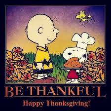 be thankful brown snoopy thanksgiving happy thanksgiving
