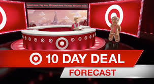target black friday 2017 gingerbread commercial target channels news sets graphics for u002710 day deal forecast u0027 ad