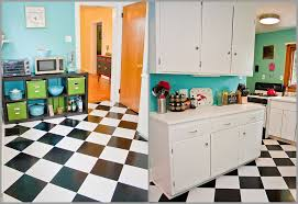 checkerboard floor peel stick vinyl tiles 100 kitchen