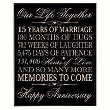 15th wedding anniversary gifts for 15th year wedding anniversary gift