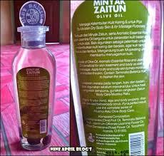 Minyak Zaitun Untuk Memanjangkan Rambut review minyak zaitun mustika ratu nine april