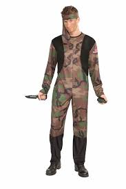 Army Men Halloween Costume Army Soldier Men Costume 19 99 Costume Land