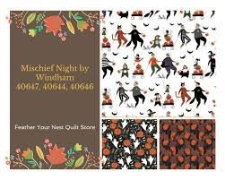 halloween personal checks halloween fabric ghost fabric mischief night ghosts by dinara
