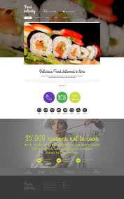 food delivery services theme