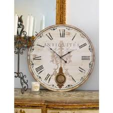 Large Shabby Chic Wall Clock by 14 Best Wall Clocks Images On Pinterest Large Wall Clocks Large