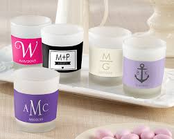 personalized candle favors frosted glass votive candle 1 39 personalized labels available