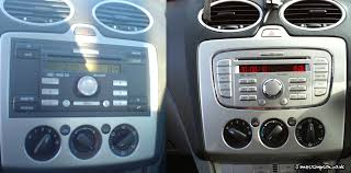 2007 ford focus radio ford focus mk2 to mk2 5 stereo conversion