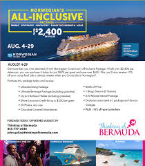 all inclusive package august 2014 promotion
