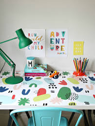 littlebigbell wall stickers for home decor how to freshen up a i also ordered stickers for my children s desk at home check out this colourful print i used for my son s ikea desk it matches the art prints on the wall