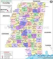 counties map buy mississippi county map