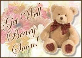 get well soon teddy well soon teddy wish