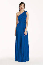 royal blue bridesmaid dresses david s bridal - Cobalt Blue Bridesmaid Dresses