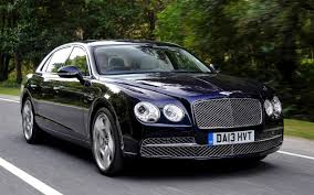 baby blue bentley bentley flying spur review