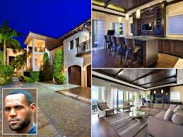 interior lovely lebron james house inside basketball court home