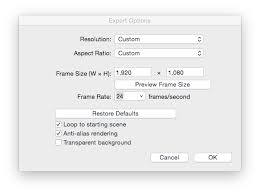 change frame rates in animation export sketchup sketchup community