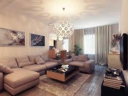 simple brown living room ideas coffee table artistic pattern