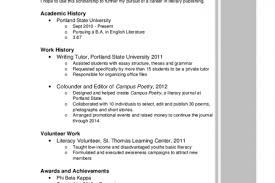 Resume Sample For Scholarship by Sample Resume For Scholarship Application Reentrycorps