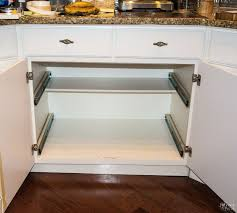 kitchen cabinet pull out storage racks diy slide out shelves tutorial the navage patch