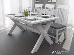 White Wash Table And Chairs Dining Room Simple Dining Table Set Wood Dining Table In White