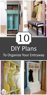 diy entryway organizer 54 best organize small spaces images on pinterest for the home