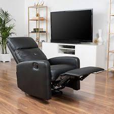 leather recliner furniture ebay