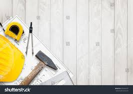 build a house plan construction tools prepared build house plan stock photo 455355577