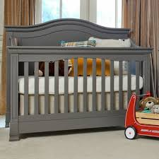 Grey Convertible Cribs Million Dollar Baby Classic Louis 4 In 1 Convertible Crib With