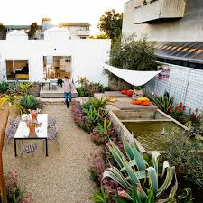 bento box outdoor living spaces sunset