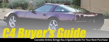 value of 1984 corvette corvette s c4 buyers guide