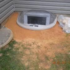 Basement Well Windows - apex water proofing woodbridge basement egress window well