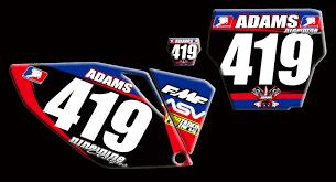 motocross jersey lettering honda number plates nineonenine designs